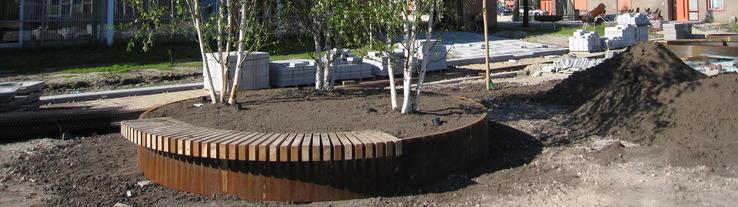 Standplaatsverbetering bomen - Van Iperen groenvoorziening (bodemverbetering)