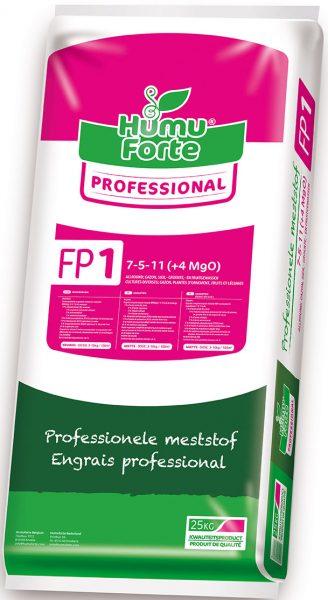FP1 organische meststof Humuforte voor borders