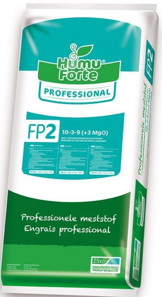 FP2 organische meststof Humuforte voor borders