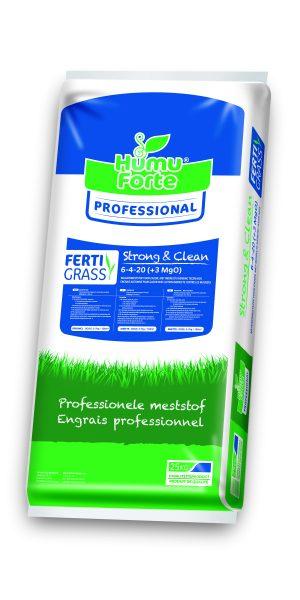 Strong & clean Humuforte organische meststof, ideaal bij mosvorming