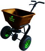 Strooiwagen voor Humuforte organische meststoffen
